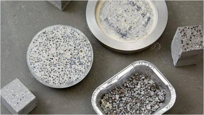 Hormigón ecológico- Materiales ecológicos innovadores