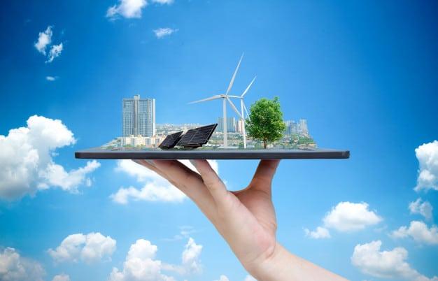 Ciudad con energías renovables